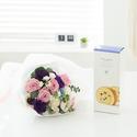 꽃다발 + 롤케익(브랜드)