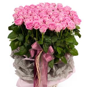 핑크 100송이바구니(5호)