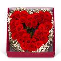 하트장미 꽃박스