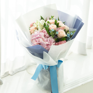 블루잉 꽃다발
