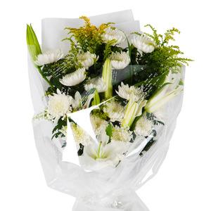 국화 꽃다발 (추도/조문)